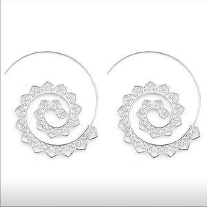 Jewelry - Spiral Earrings SILVER